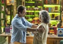 Espelho da Vida - Margot descobre que Daniel é seu neto (Globo/Paulo Belote)