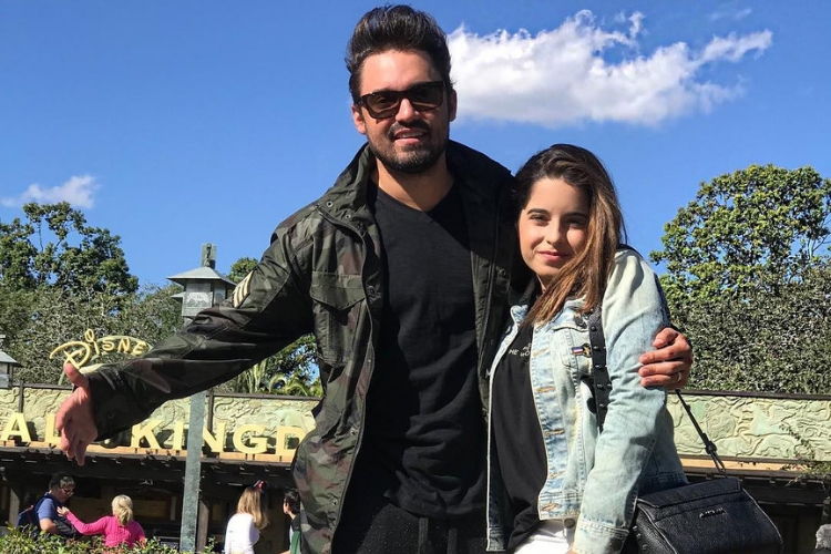 Fernando e a filha/Reprodução Instagram