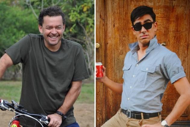 Fernando Rocha e Adnet/Reprodução Instagram