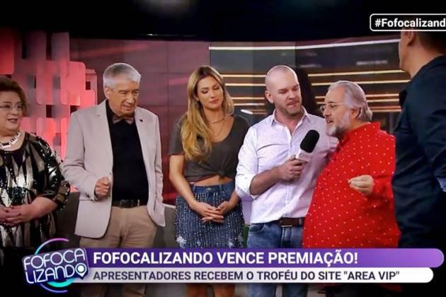 Fofocalizando exibe matéria do Prêmio Área VIP/SBT