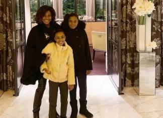 Glória Maria e as filhas/Reprodução Instagram