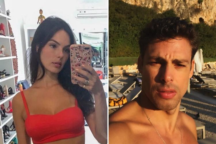 Isis Valverde e Cauã Reyomnd/Reprodução Instagram