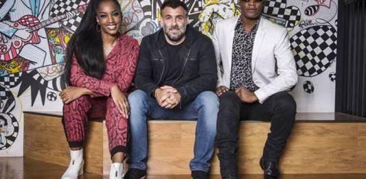 Raoni Carneiro e Toni Garrido (Globo/Fábio Rocha)