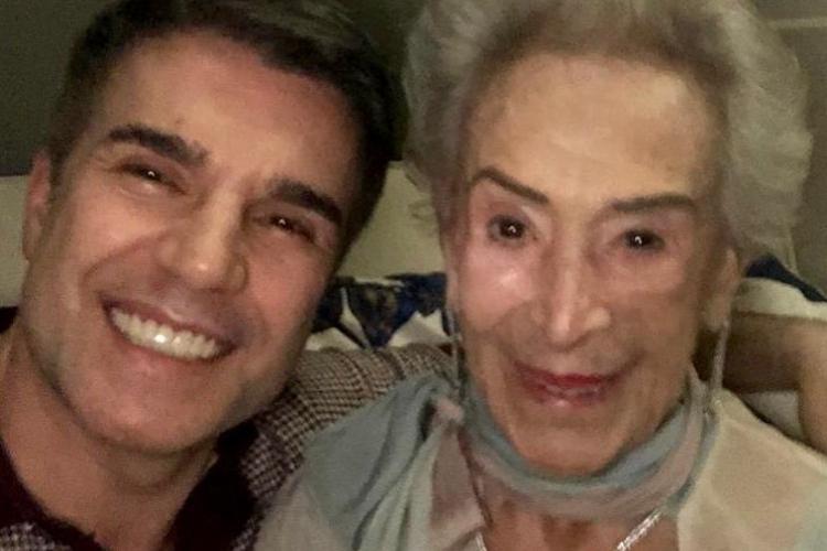 Marido de Claudia Raia, Jarbas Homem de Mello, lamenta morte da sogra