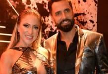Jéssica Rodrigues e Latino - Reprodução/Instagram
