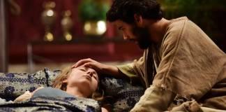 Jesus - Helena é curada (Blad Meneghel/ Record TV)