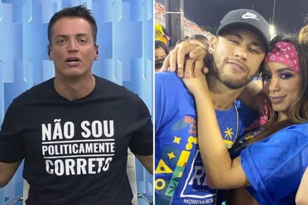 Leo Dias e Neymar e Anitta/Reprodução Instagram