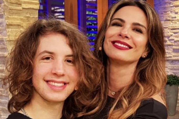 Lucas Jagger e Luciana Gimenez / Instagram