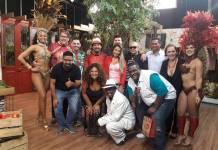 Luciano Faccioli com convidados/Rede Brasil