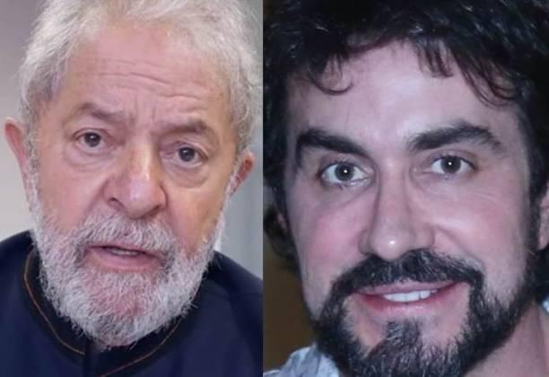 Lula e Fábio De Melo (Foto: Montagem Área Vip)