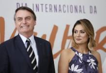Michelle Bolsonaro e Jair/Reprodução Instagram