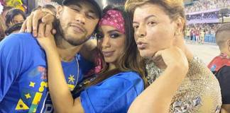 Neymar - Anitta - David Brazil/Instagram