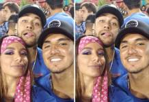 Neymar Anitta e Medina/Reprodução Instagram