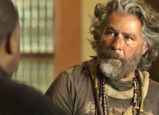 O Sétimo Guardião - Padre conversa com Feliciano (Reprodução/TV Globo)
