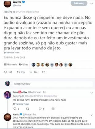 Post - Anitta/Twitter