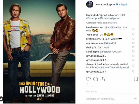 Post - Leonardo DiCaprio/Instagram