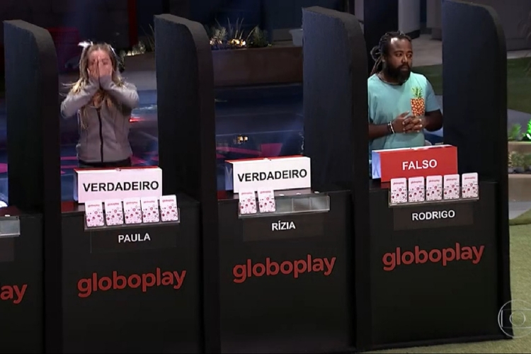 Prova do líder/Reprodução Globoplay