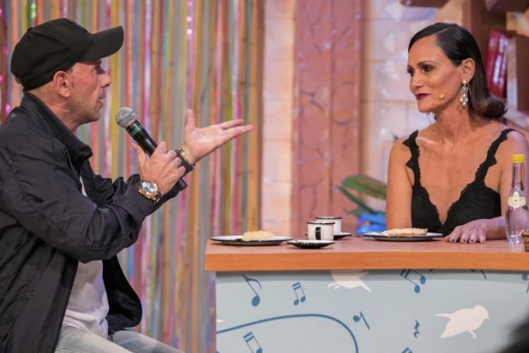 Rafael Ilha e Faa Morena/Divulgação RedeTV!:  Andrea Dallevo