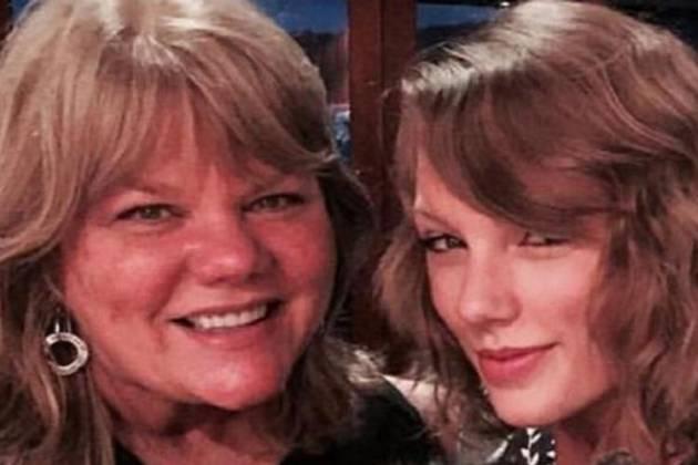 Taylor e a mãe Andrea - Reprodução/Instagram
