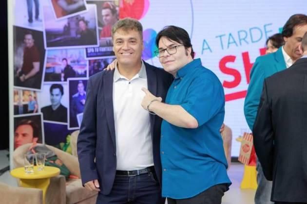 Tony Castro e Evê Sobral/Foto: Roger Soares