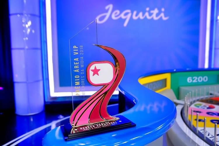 Troféu Prêmio Área VIP (Gabriel Cardoso/SBT)