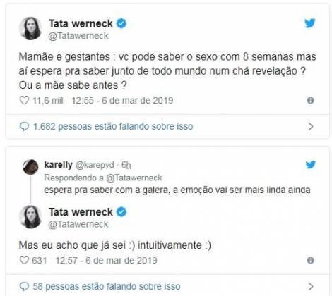 Twitter Tatá Werneck (Foto: Twitter)