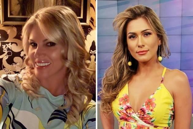 Val Marchiori e Lívia Andrade/Reprodução Instagram