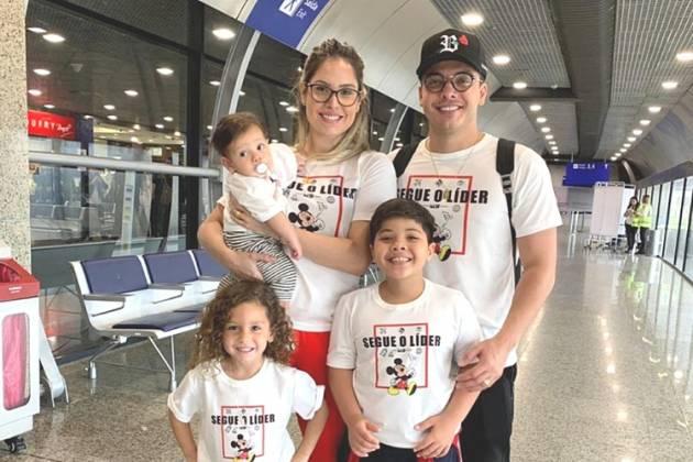 Wesley Safadão e família/Reprodução Instagram