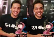 Wesley Safadão com Troféu Área VIP/Foto: Área VIP
