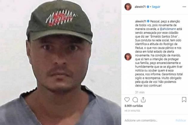 Alexandre Correa expôs suspeito - Reprodução/Instagram