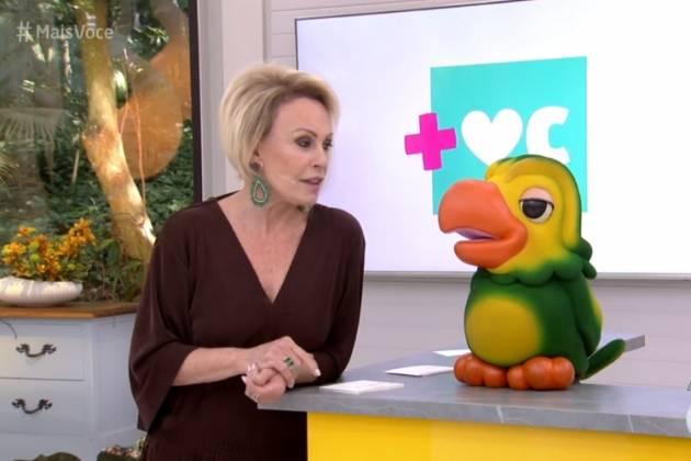 Ana Maria se declarou para Louro José - Reprodução/Globo