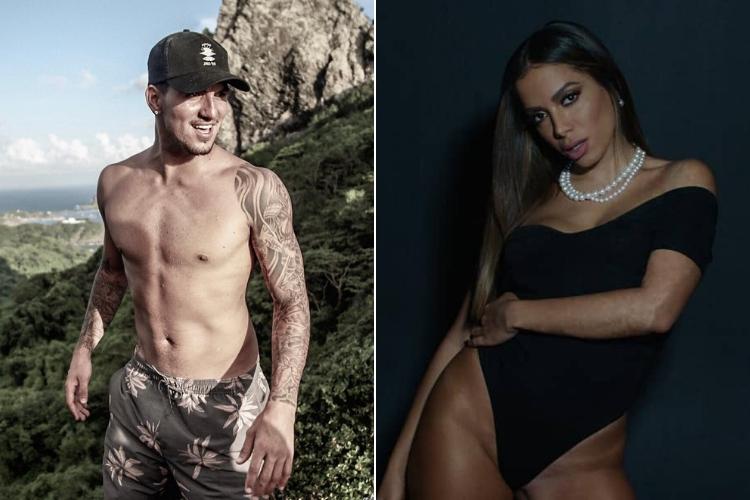Anitta e Gabriel Medina/Reprodução Instagram