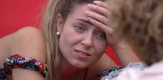 BBB19 - Paula lamenta expulsão de Hariany (Reprodução/TV Globo)