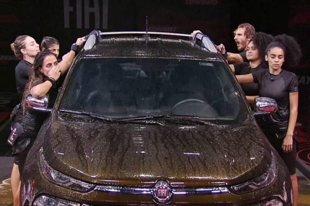 BBB19 - Prova do Líder Fiat Toro (Reprodução/TV Globo)
