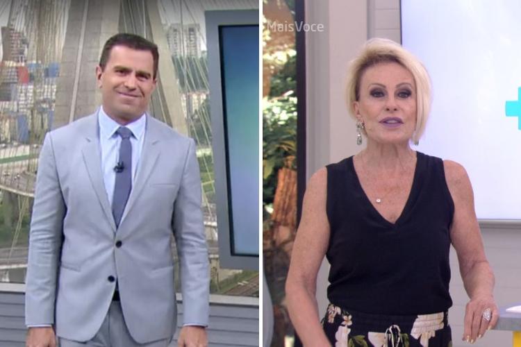 Bocardi e Ana Maria Braga/Reprodução Globoplay