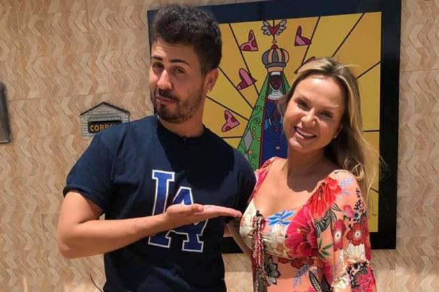 Carlinhos Maia e Eliana (Divulgação/SBT)