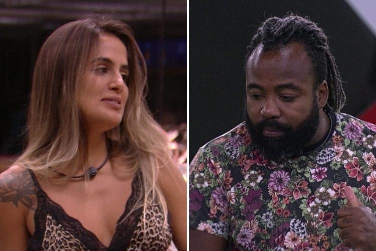 Carolina e Rodrigo/Reprodução Gshow