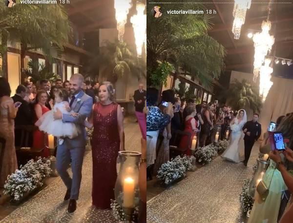 Casamento - irmã de Eduardo Costa/Instagram