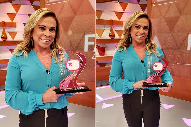 Casos de Família com Christina Rocha recebe Prêmio Área VIP