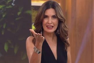 Fátima Bernardes - Reprodução/Globo