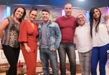Faa Morena com elenco/Divulgação