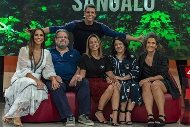 Familia Sangalo (Globo/Ellen Soares)
