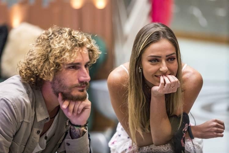 Final BBB19 - Alan e Paula (Globo/Paulo Belote)