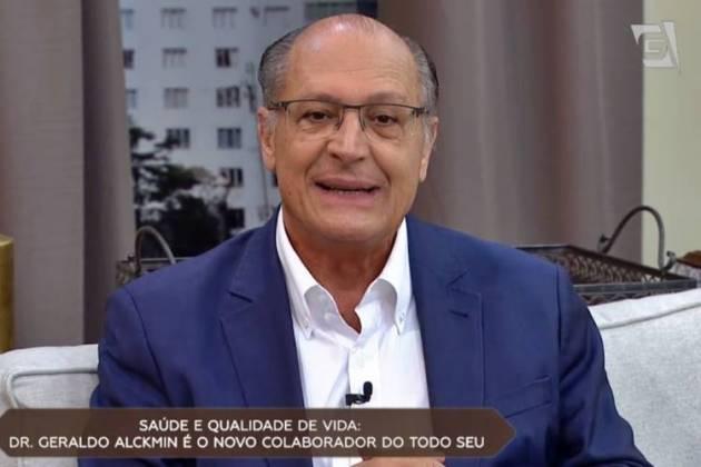 Geraldo Alckmin (Reprodução/TV Gazeta)