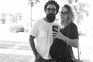 Juliano Cazaré e a esposa/Reprodução Instagram
