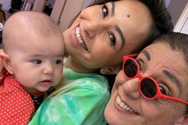 Zoe, Sabrina Sato e Leda - Reprodução/Instagram