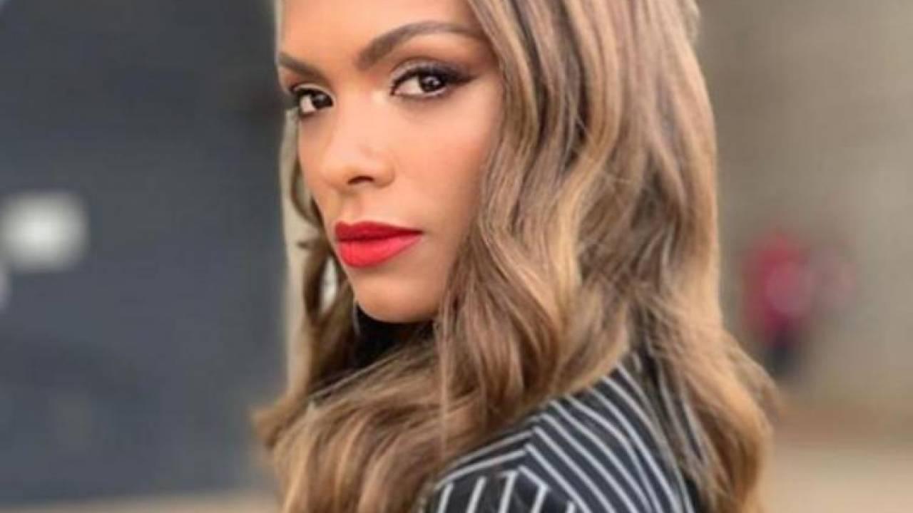 Atriz Lidi Lisboa atriz da record d� ataque de estrelismo em coletiva - �rea vip