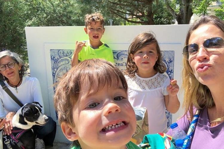 Luana Piovani e filhos - Reprodução/Instagram