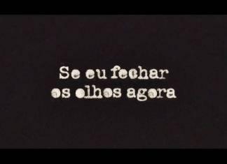 Logo - Se eu Fechar os Olhos Agora/TV Globo