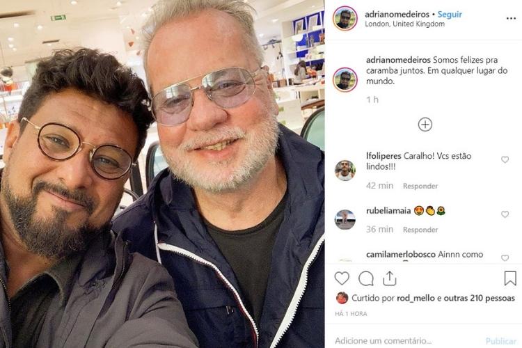 Luis Fernando Guimarães/Reprodução Instagram